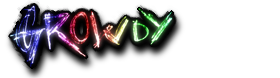 Growdy Logo 2013 on black